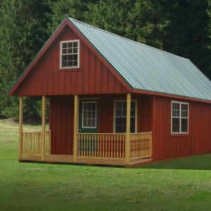 Custom ready made Cabins from Pine Creek Structures
