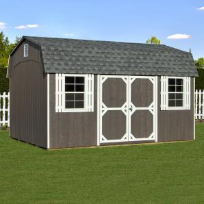Dutch Barn Storage Sheds from Pine Creek Structures