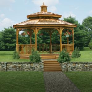 Gazebos, Pergolas, & Pavilions from Pine Creek Structures