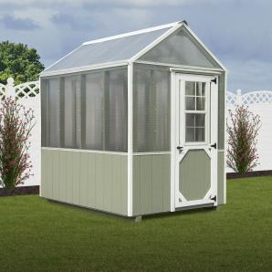 Garden Houses and Greenhouses from Pine Creek Structures