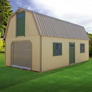 Two-Story Barns and Garages from Pine Creek Structures