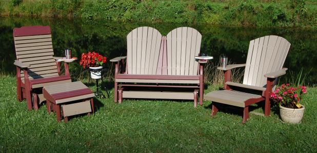 Patio Furniture & Outdoor Décor from Pine Creek Structures