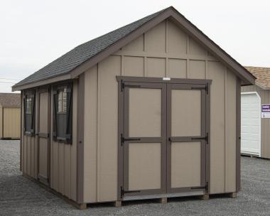 10x16 LP Board 'N' Batten Cape Cod Storage Shed